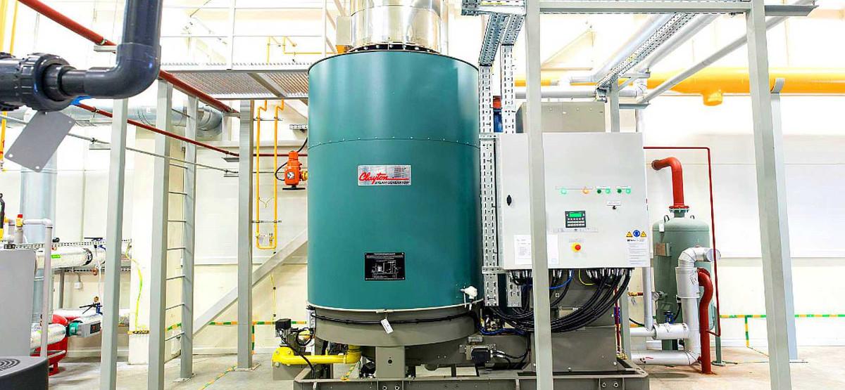 RESITECH | Steam Boiler / Generator | CLAYTON Ghana